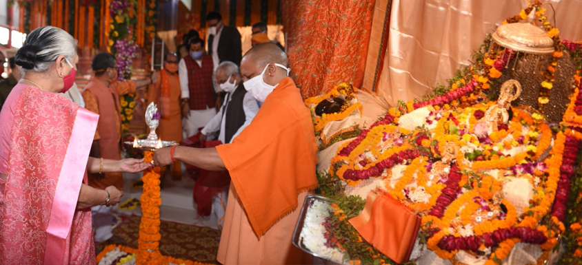 Governor worshiped Shri Ram Lala with CM in Ayodhya