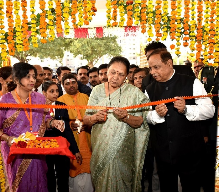 The Governor inaugurated newly constructed building of Lucknow Centre of Uttar Pradesh Rajarshi Tandon Open University.